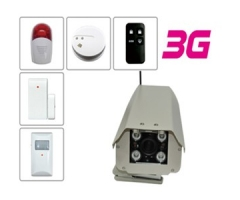 3G outdoor wireless camera and accessories