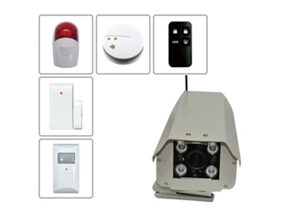 Outdoor wireless camera and accessories